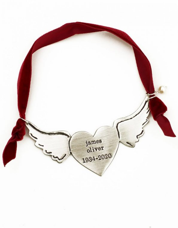 A Piece Of My Heart Is In Heaven Ornament