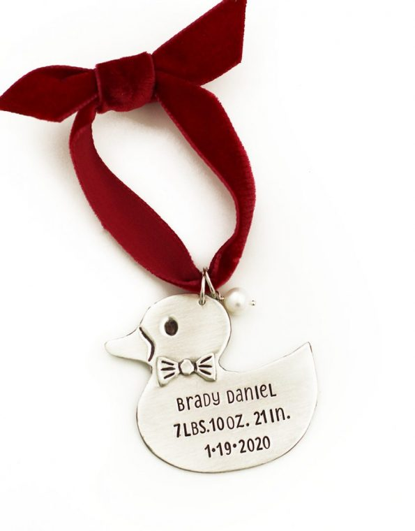 Baby Duck Ornament