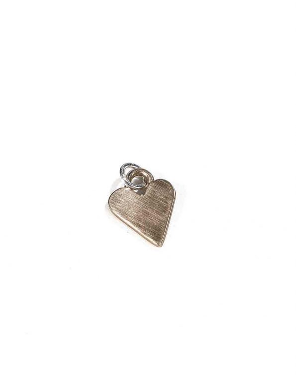 Bailed Heart Charm (Bronze)