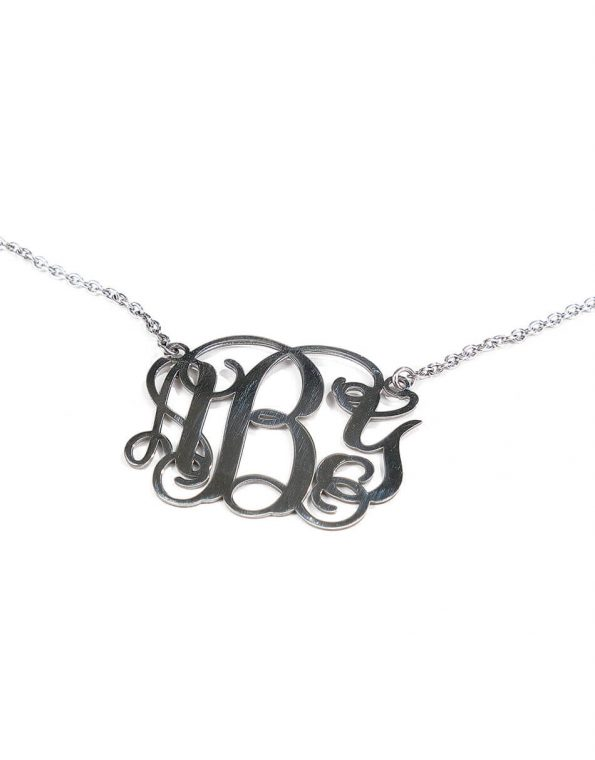 Classic Monogram Necklace, Medium