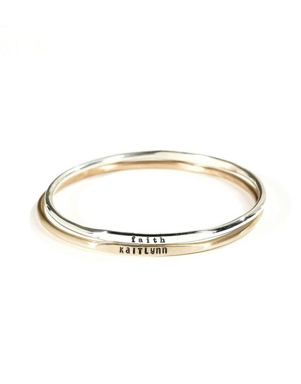 Classic Sentiments Bangle