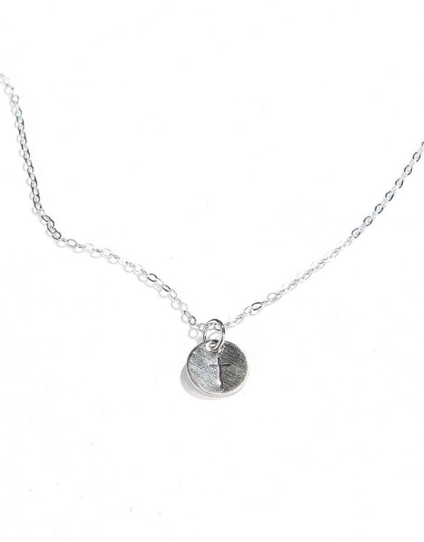 Dainty Cross Necklace Sterling Silver