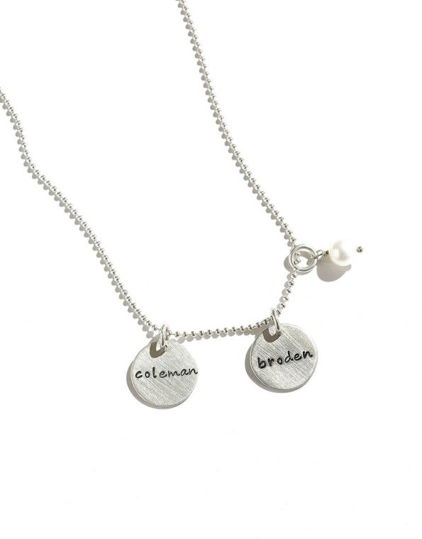 Dainty Names Sterling Silver Necklace