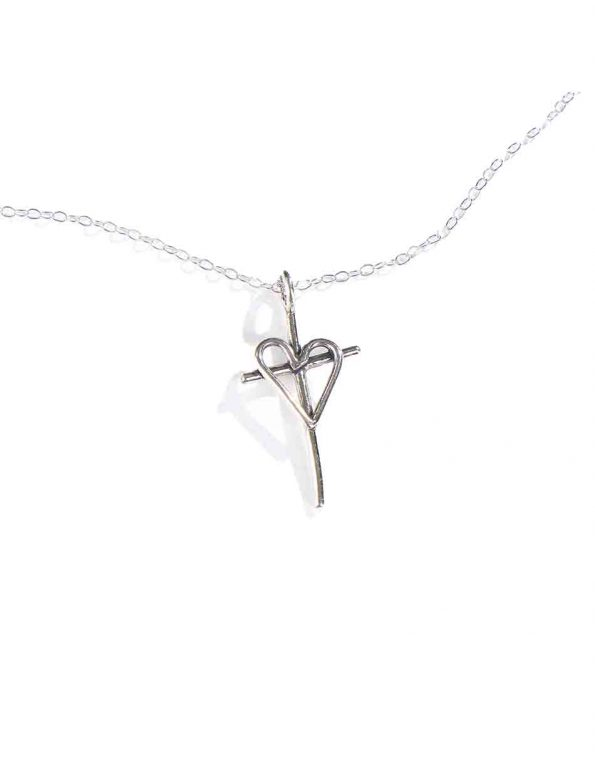 For God So Loved The World Charm Necklace