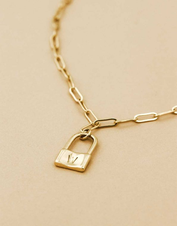 gold-dainty-paperclip-charm-necklace-3