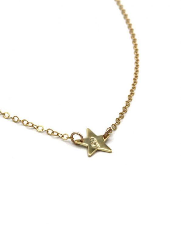 gold-star-initial-necklace-flat-2