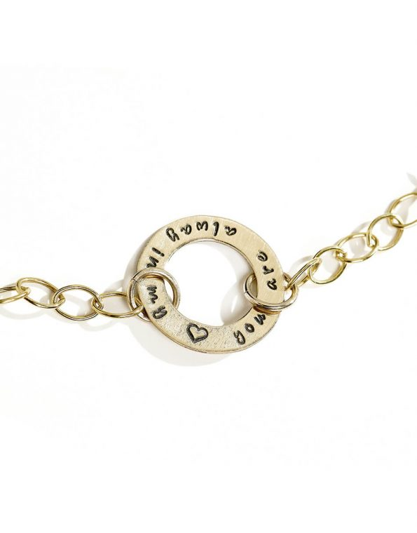 golden-eternity-circle-bracelet-2