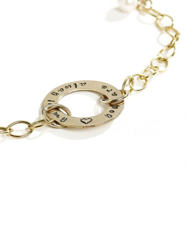 golden-eternity-circle-bracelet-3
