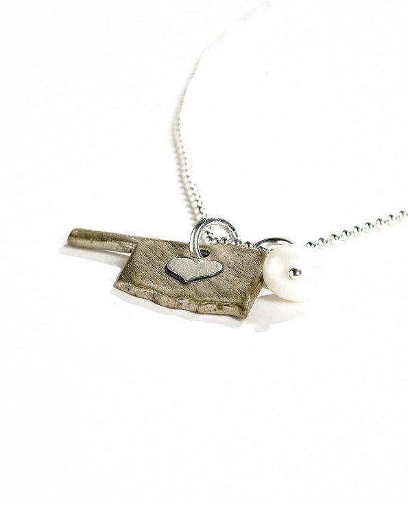 Home State Love Necklace
