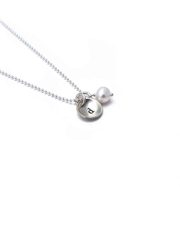 Initial On A Sterling Silver Chain