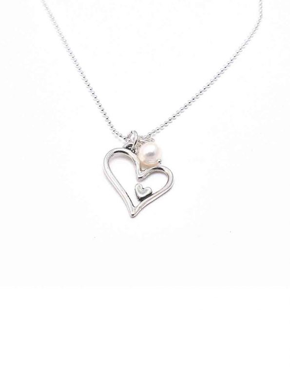 Life Has Given Me You Sterling Necklace