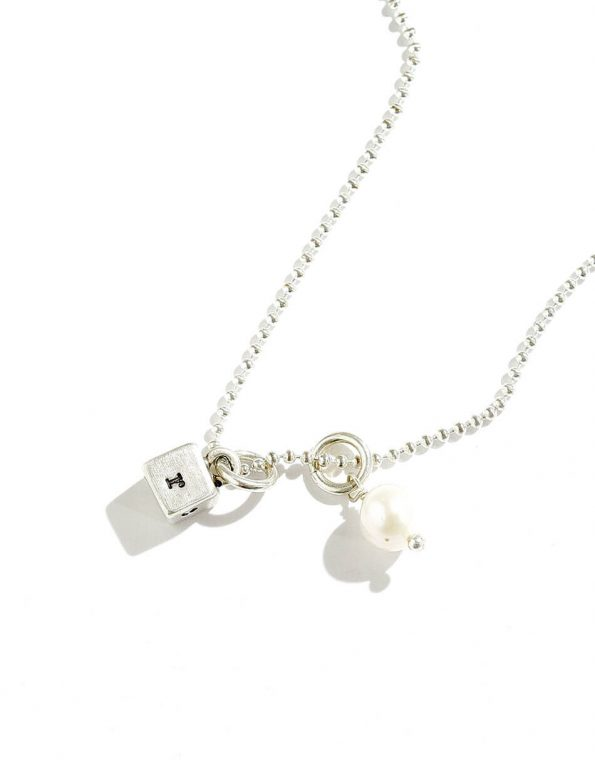 Love Squared Sterling Silver Necklace