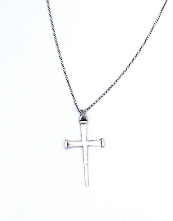 mens-nailed-cross-necklace