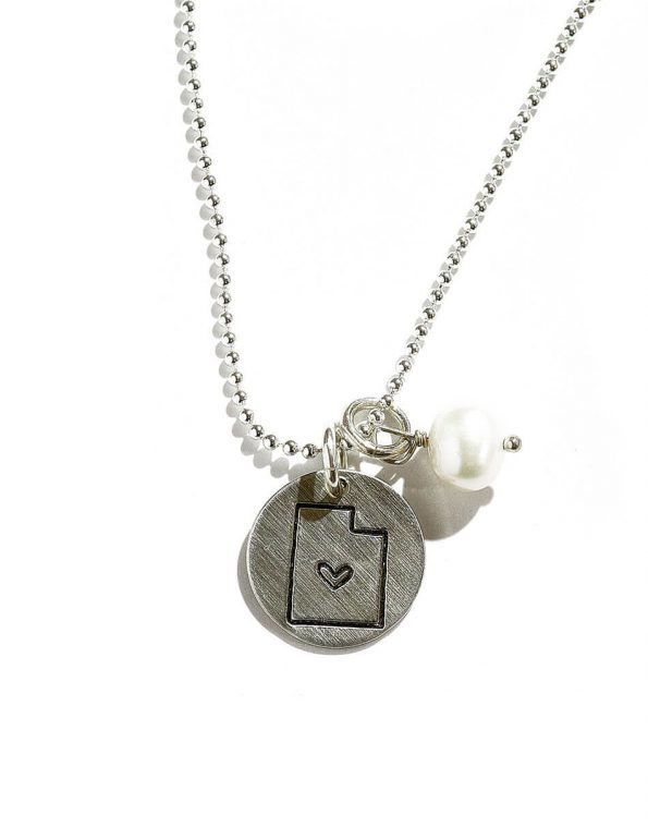 Mini State Charm Necklace