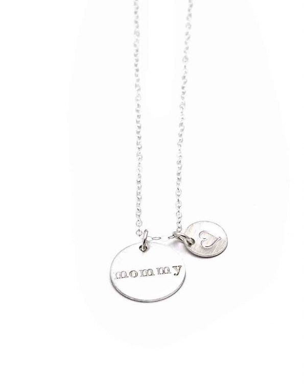 mothers-heart-disc-necklace-silver-1