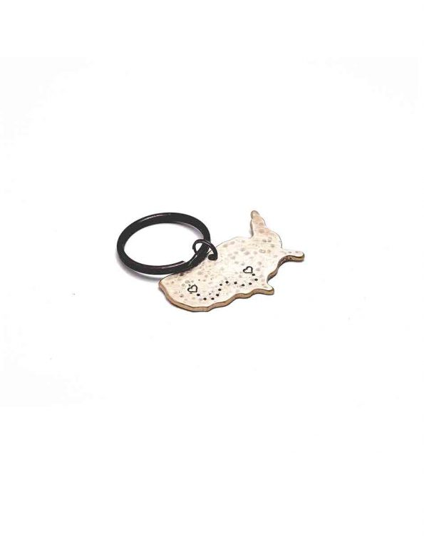 No Matter The Miles Between Us Keychain