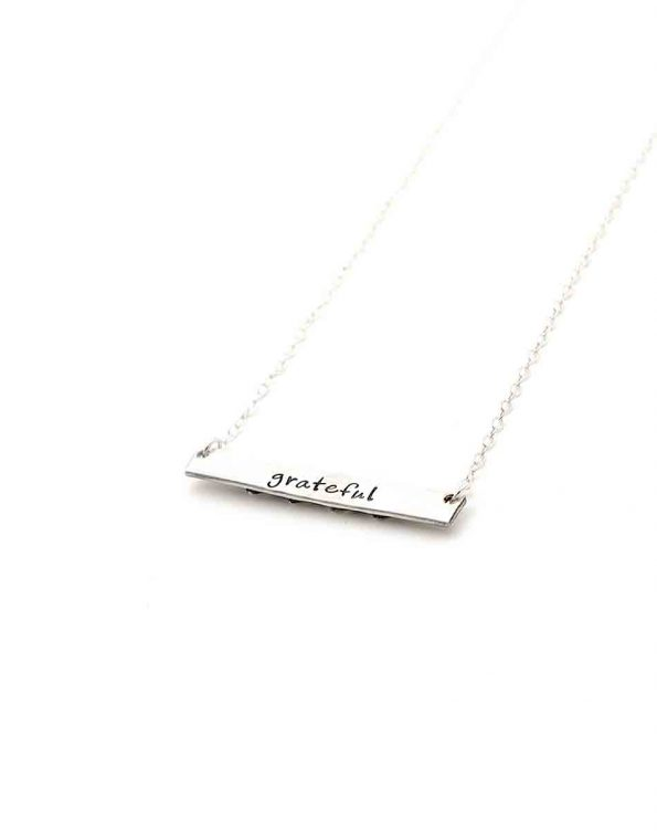 Our Hearts Sterling Necklace