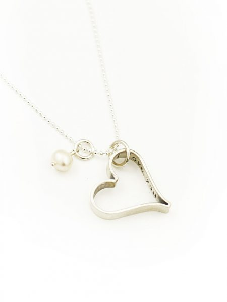 Hand forged heart with a special secret message. Sterling silver heart is very thick and sturdy. Perfect valentine gift for wife