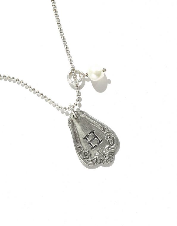 Southern Belle Spoon Charm Necklace