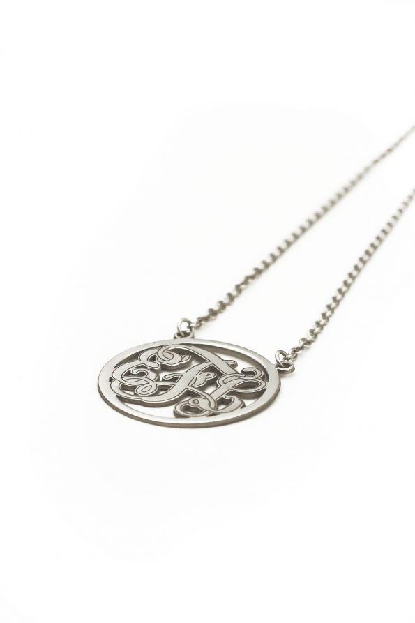 Sterling Legacy Monogram Necklace