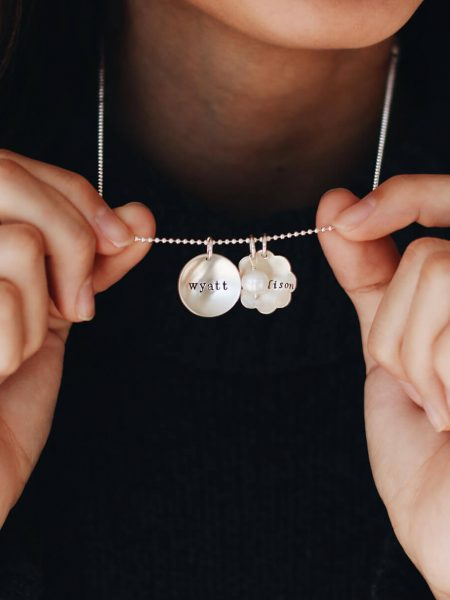 Custom Name Initial Necklace For Women