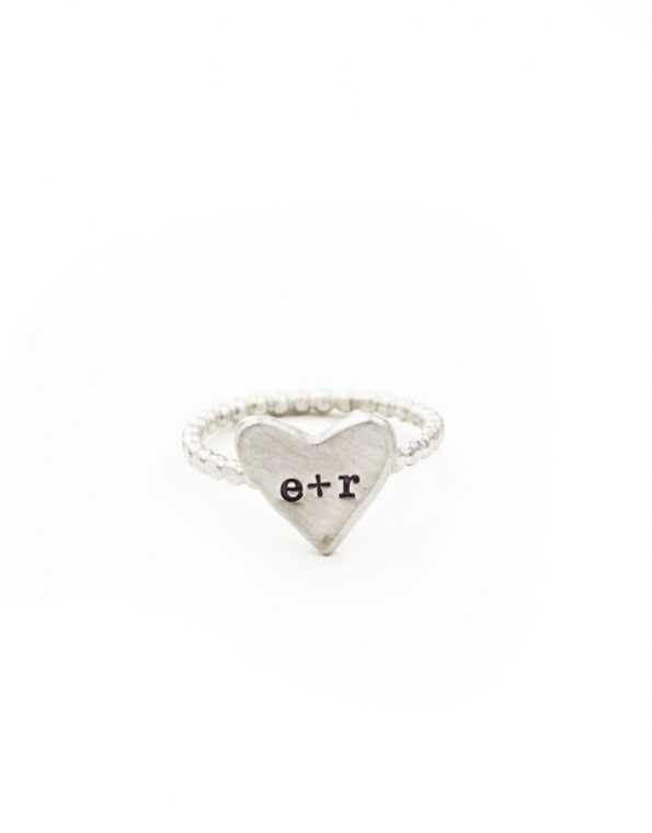 Sterling Silver Sweetheart Ring