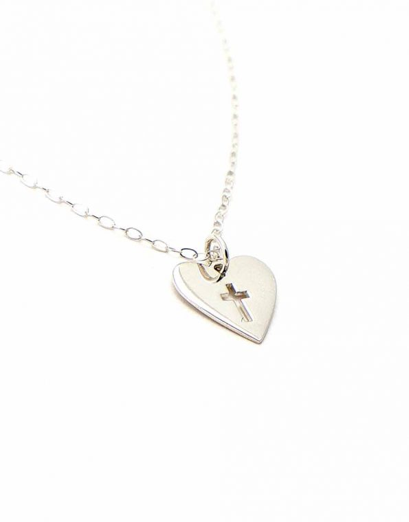 Trust In The Lord Sterling Silver Necklace