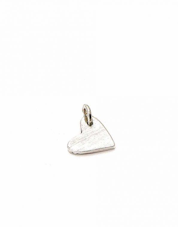 A beautiful vintage hand-sculpted heart charm makes for a perfect gift for mom, new mom, wife. Can be personalized by adding initials