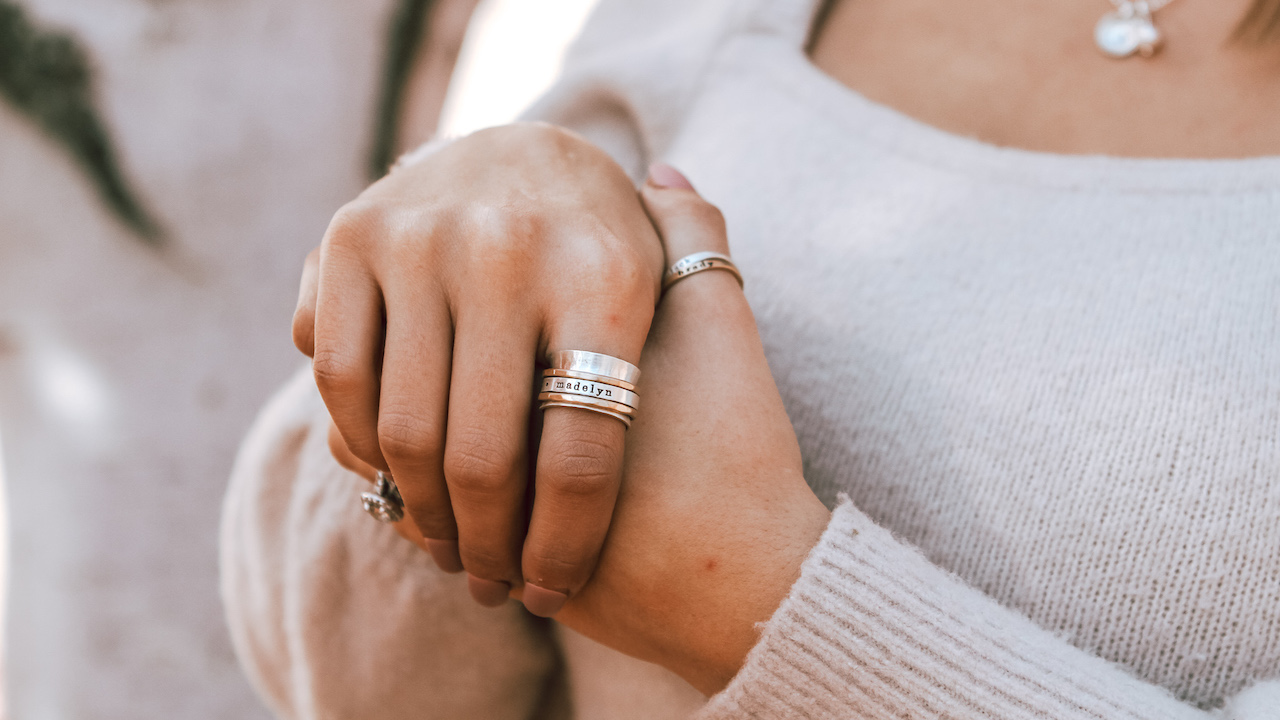 Personalized Rings for you or your loved ones